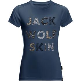 Jack Wolfskin Wild T-shirt Enfant, dark indigo